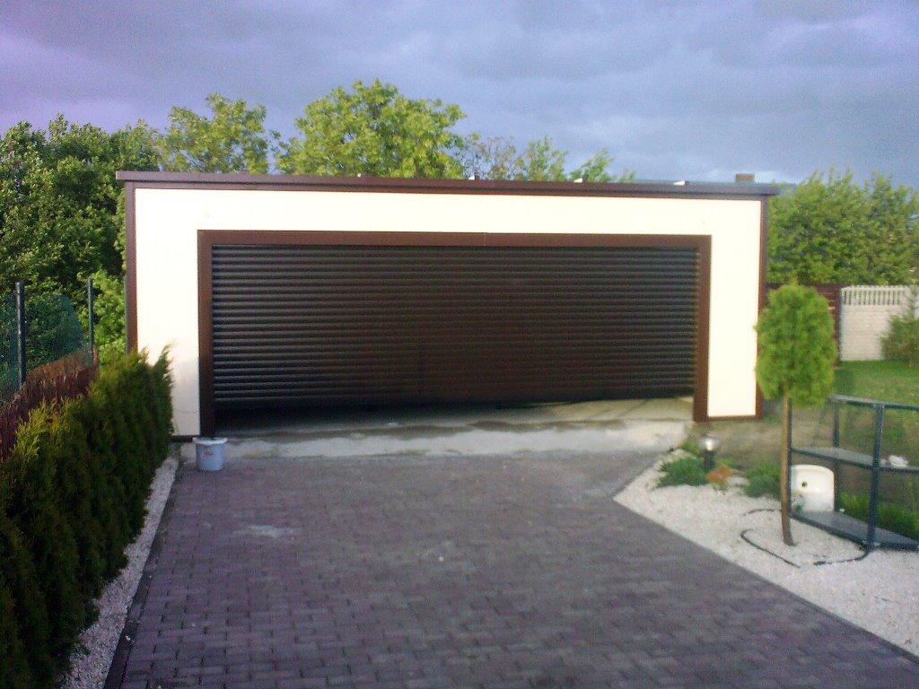 Garaże Z Płyt Warstwowych
